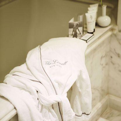 Frette bathrobe